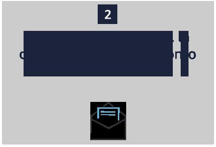 Passo 2. Riceverai tramite email la conferma del buono sconto da 10€.