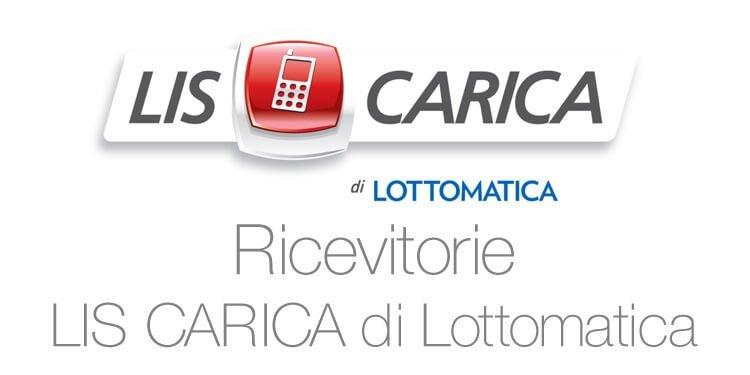 """Punti vendita Lottomatica Italia Servizi Clicca su """"LIS CARICA"""" e poi """"Codici Acquisto"""""""