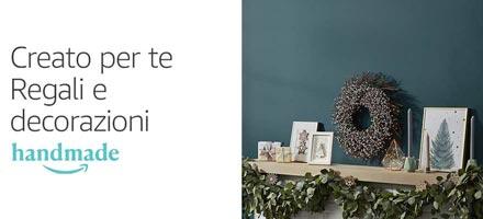 Creato per te. Trova il regalo e le decorazioni perfetti per questo Natale, Handmade