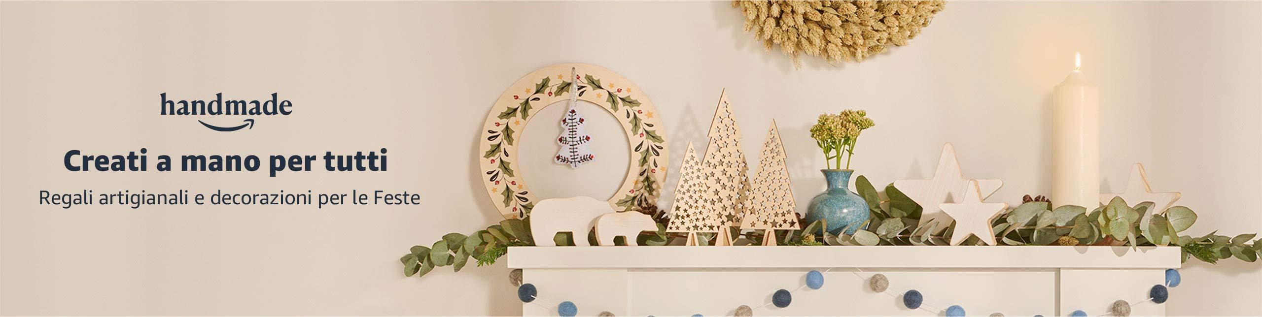 Regali artigianali e decorazioni per le Feste