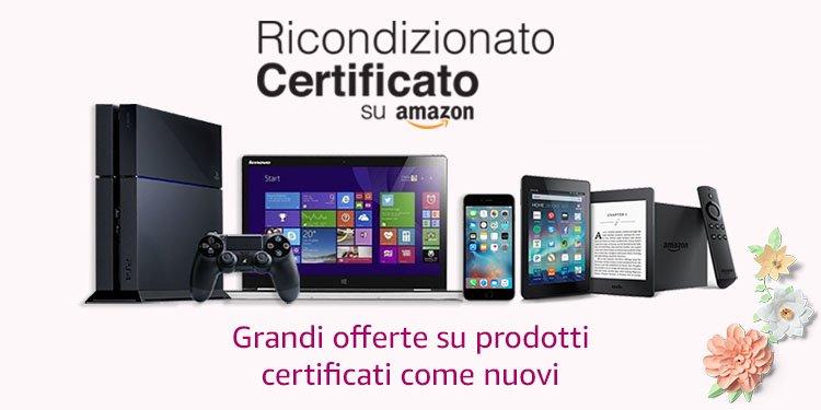 Ricondizionato Certificato su Amazon
