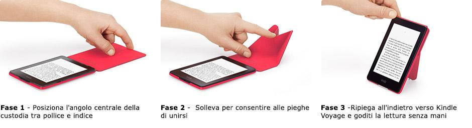 Custodia Origami per Kindle Voyage (7ª generazione)