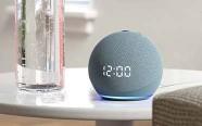 Echo Dot con orologio