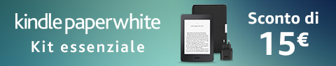 Kit essenziale Kindle Paperwhite | Sconto di 15 €