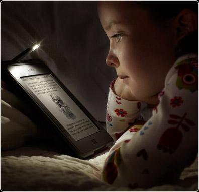 Leggi facilmente sul tuo Kindle Touch al buio