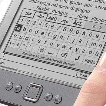 Tastiera virtuale sullo schermo