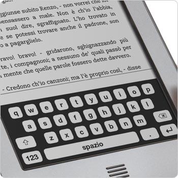 Tastiera su schermo touch