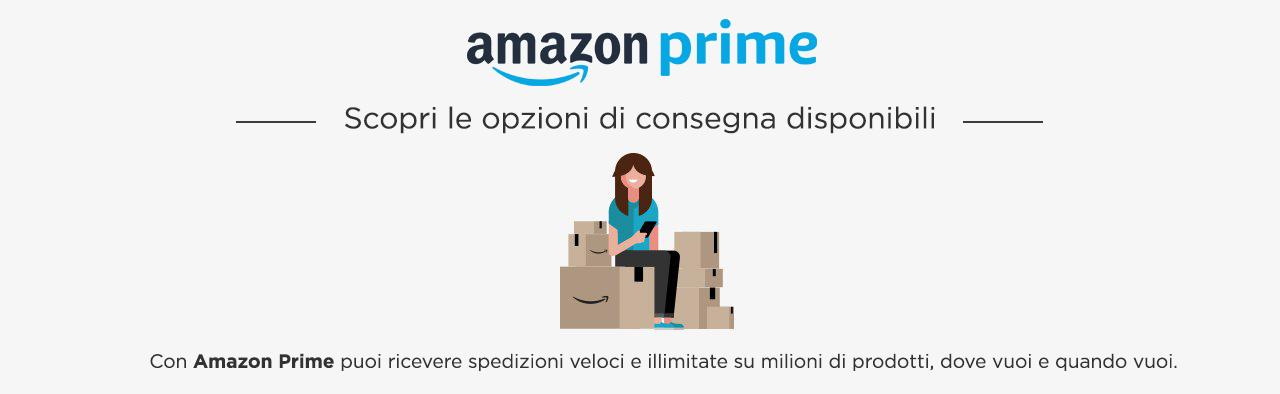 Prime: opzioni di consegna