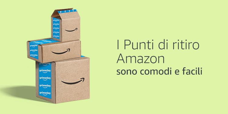 I Punti di ritiro Amazon sono comodi e facili