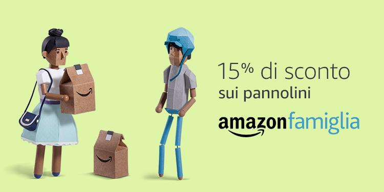 15% di sconto sui pannolini