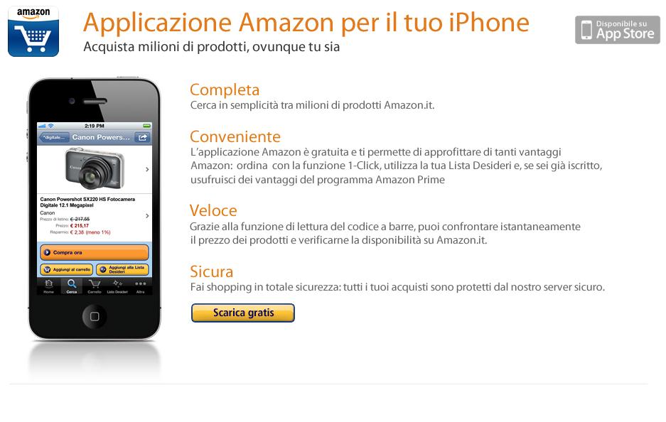 Amazon IT iPhone App