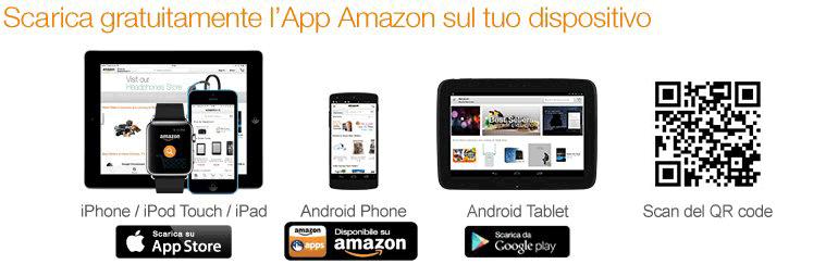 Scarica gratis l'App Amazon e inizia a fare shopping