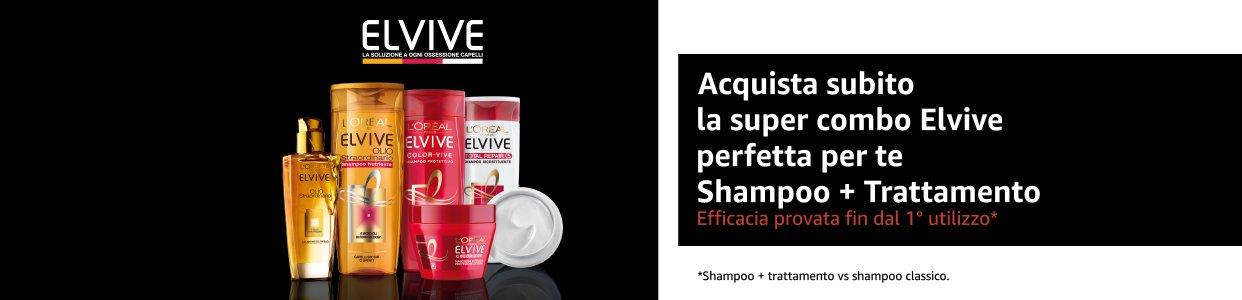 Elvive shampoo e trattamento