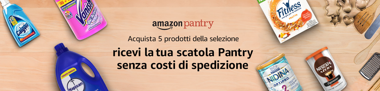 amazon pantry spedizioni gratis