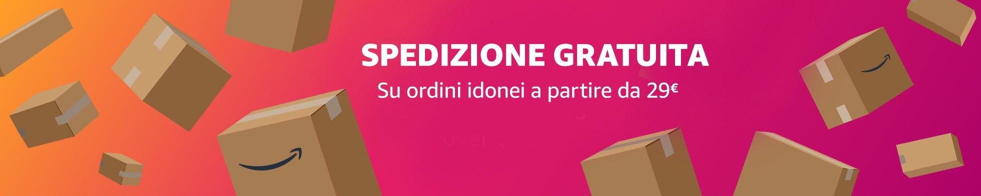Spedizione Standard gratuita per odini idonei a partire da EUR 29.