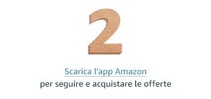 Scarica l'app Amazon per guardare e acquistare i prodotti in offerta