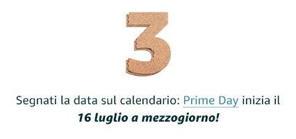 Segnati la data sul calendario: Prime Day inizia il 16 luglio a mezzogiorno!