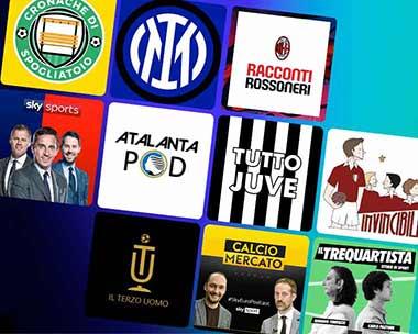 Podcast per gli amanti del calcio
