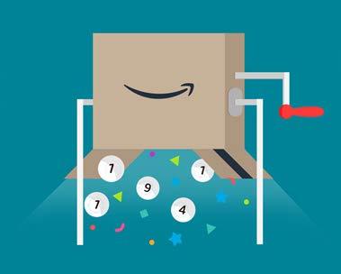 Amazon.it compie 10 anni: vinci 10.000€