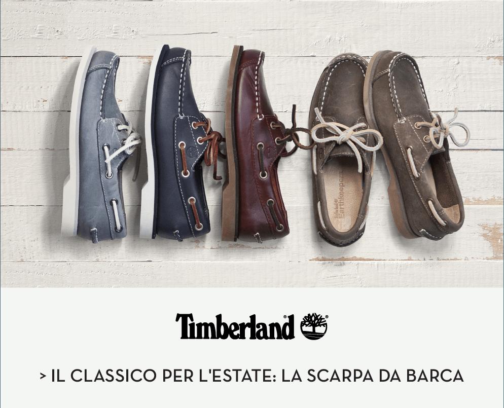 Timberland Il classico per l'estate: la scarpa da barca
