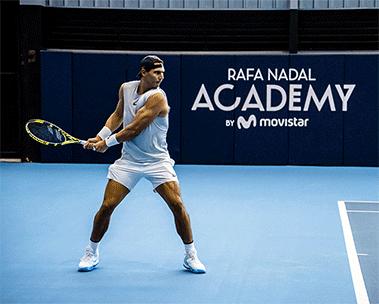 Scopri il negozio della Rafa Nadal Academy