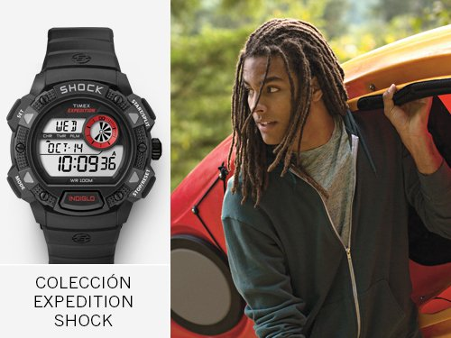 Timex - Coleccion Expedition