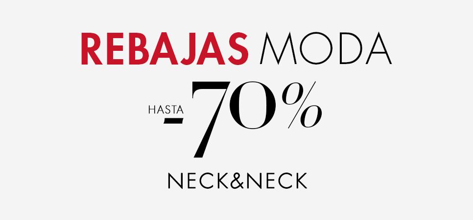 Rebajas Neck & neck