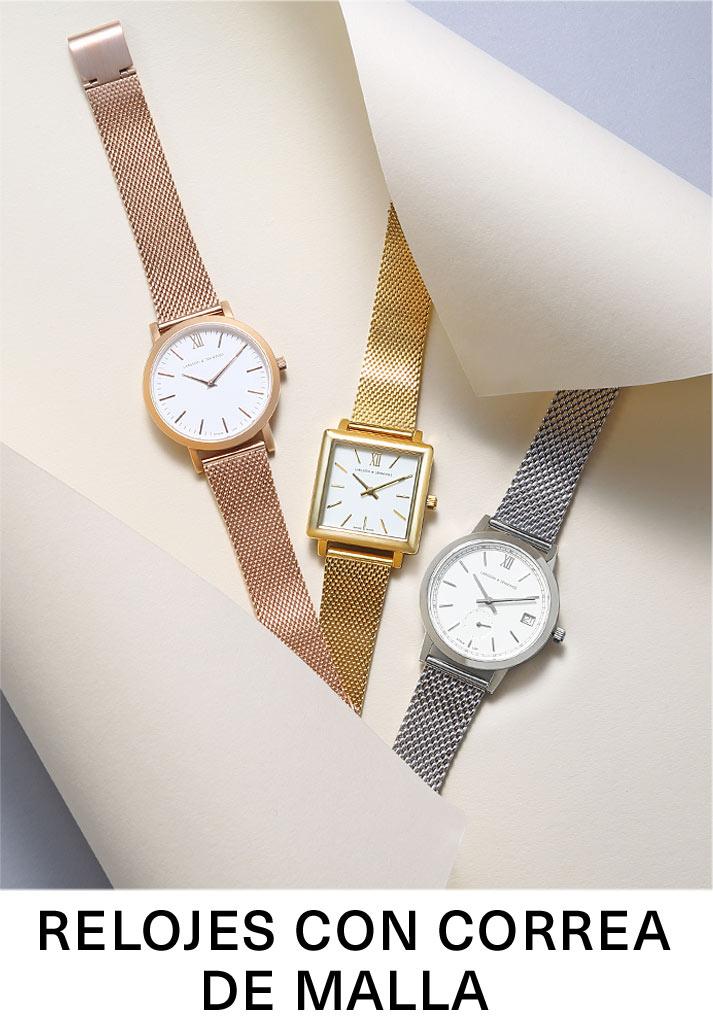Relojes de malla