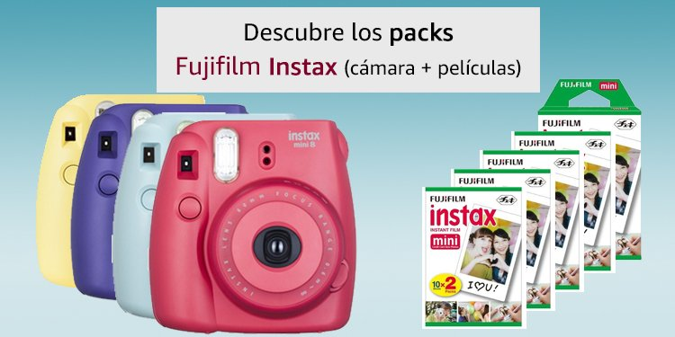 Instax paquetes