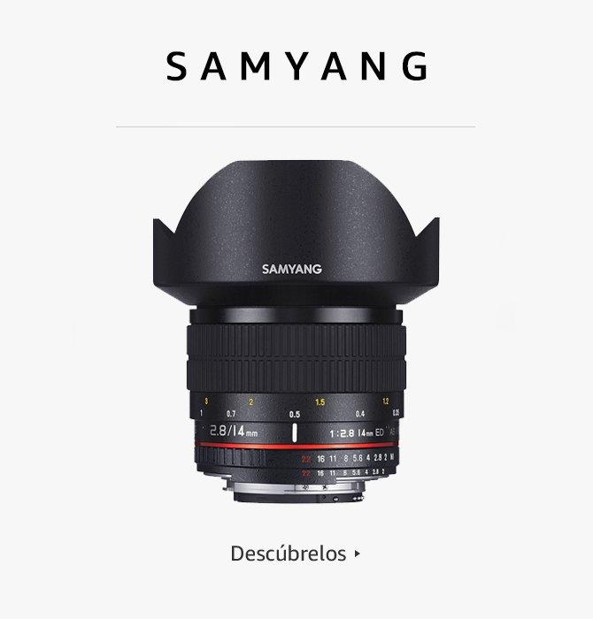 Samyang objetivos