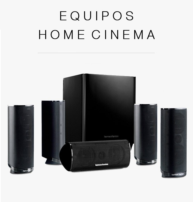 Equipos Home Cinema
