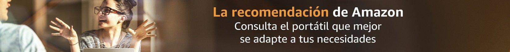 La recomendación de Amazon: Portátiles