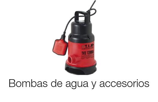 Bombas de agua y accesorios