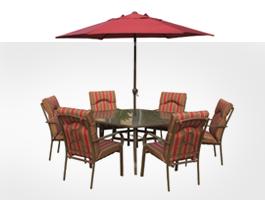 Muebles y accesorios de jard n mesas sillas bancos tumbonas cojines y mucho m s - Amazon mesas de jardin ...