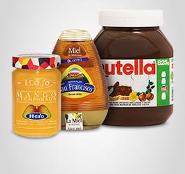 Mermeladas, miel y pastas para untar