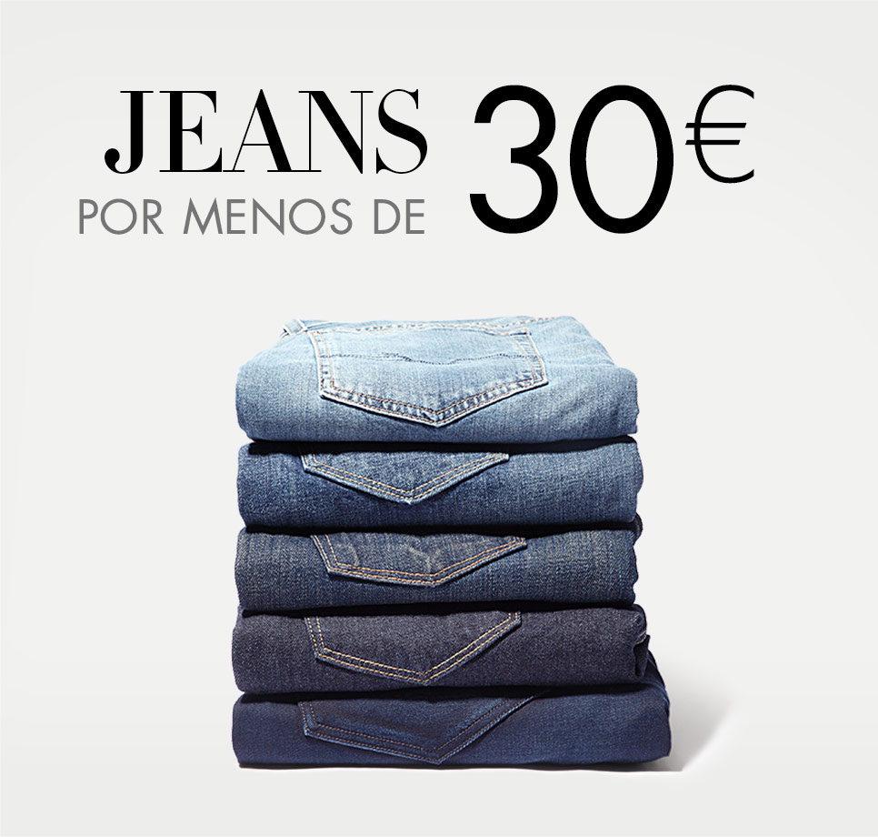 Jeans por menos de 30€