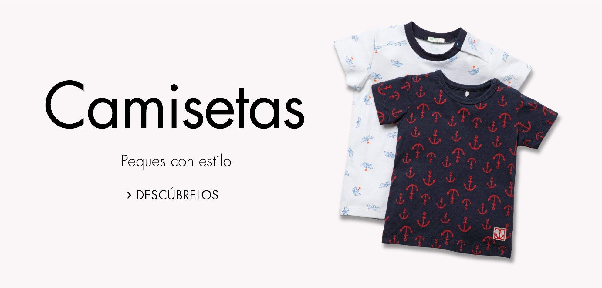 Camisetas para bebé