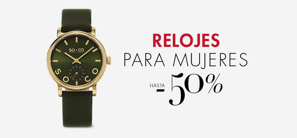 Relojes para Mujeres hasta -50%