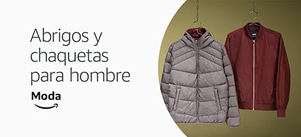 Abrigos y chaquetas para hombre