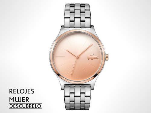 Relojes Lacoste Mujer