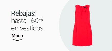 Rebajas : hasta -60% en vestidos