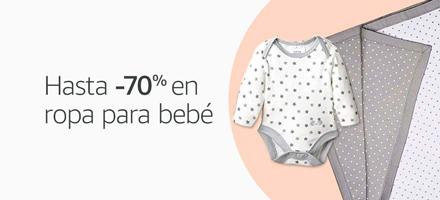 Hasta -70% en ropa para bebè
