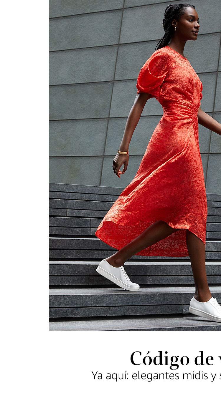Ya aquí: elegantes midis y sedas de nueva temporada