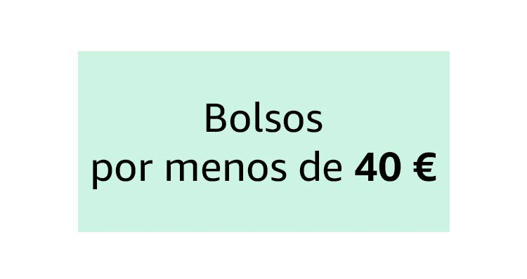 Bolsos por menos de 40 €
