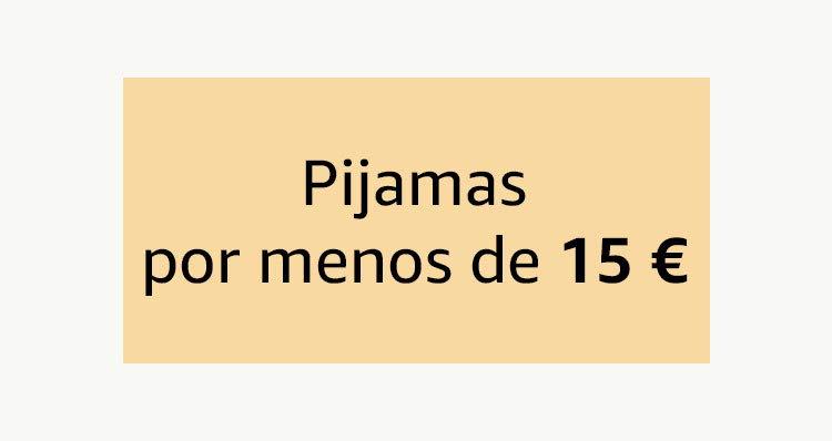 Pijamas por menos de 15€
