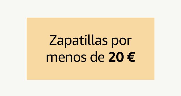 Zapatillas por menos de 20€