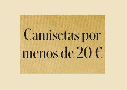 Camisetas por menos de 20€