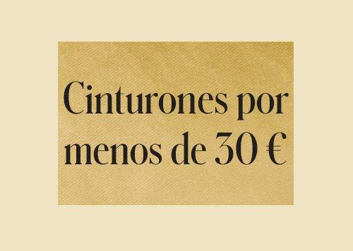 Cinturones por menos de 30€