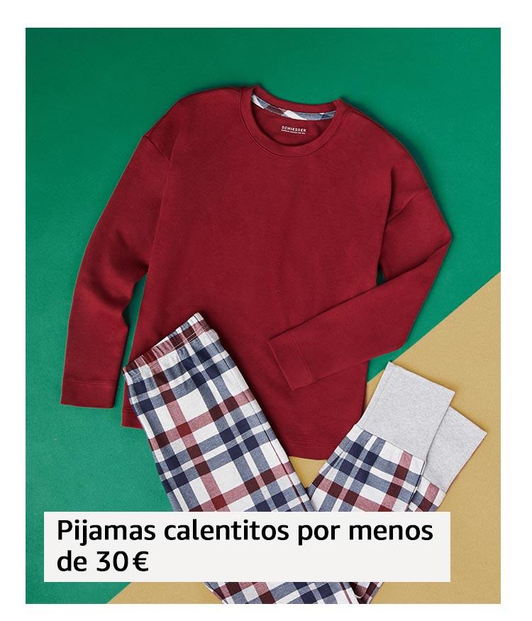 Pijamas calentitos por menos de 30 €