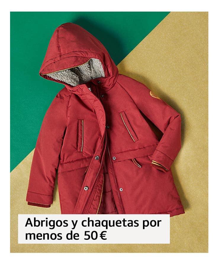 Abrigos y chaquetas por menos de 50 €